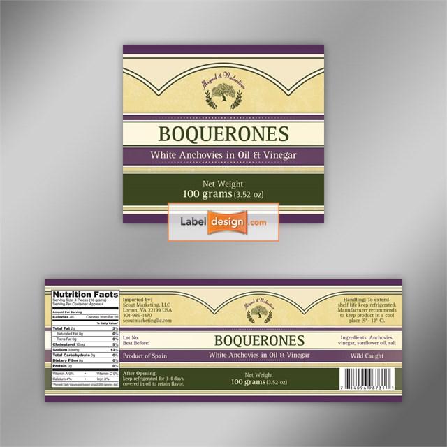 Label Design by Professional Label Designers