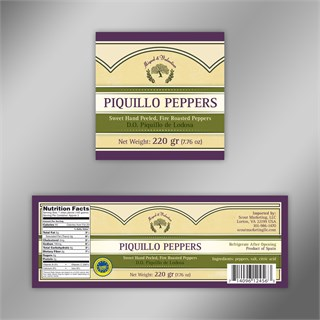 Miguel And Valentino / Label Piquillo Peppers